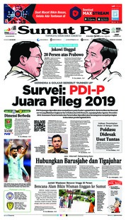 Cover SUMUT POS 09 Januari 2019