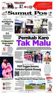 Cover SUMUT POS 10 Januari 2019