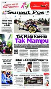 Cover SUMUT POS 11 Januari 2019