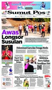 Cover SUMUT POS 12 Januari 2019