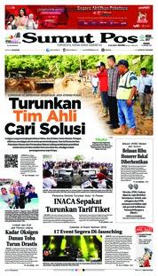 Cover SUMUT POS 14 Januari 2019