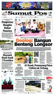 Cover SUMUT POS 15 Januari 2019