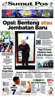 Cover SUMUT POS 16 Januari 2019