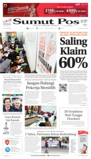 Cover SUMUT POS 11 April 2019