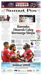 Cover SUMUT POS 26 April 2019