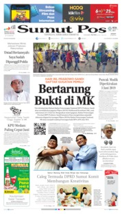 Cover SUMUT POS 24 Mei 2019