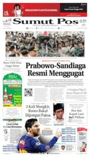 Cover SUMUT POS 25 Mei 2019