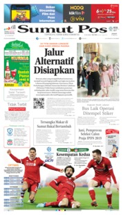 Cover SUMUT POS 31 Mei 2019
