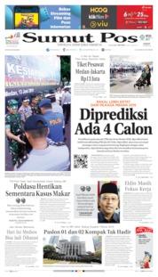 Cover SUMUT POS 14 Juni 2019