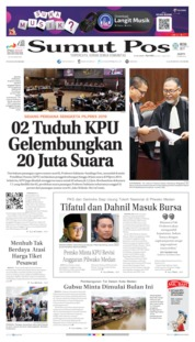 Cover SUMUT POS 15 Juni 2019