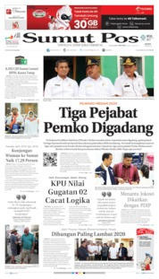 Cover SUMUT POS 17 Juni 2019