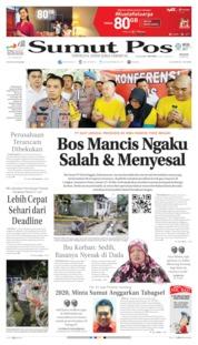 Cover SUMUT POS 25 Juni 2019