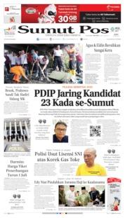 Cover SUMUT POS 26 Juni 2019