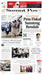 Cover SUMUT POS 10 Juli 2019