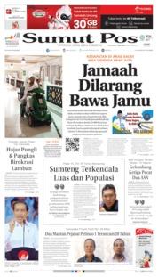 Cover SUMUT POS 15 Juli 2019
