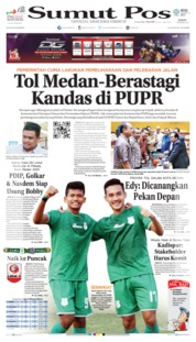 Cover SUMUT POS 09 Agustus 2019