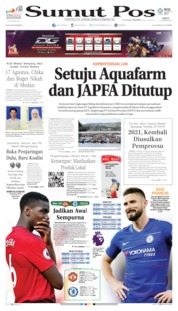 Cover SUMUT POS 10 Agustus 2019
