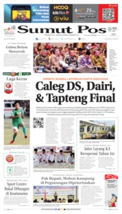 Cover SUMUT POS 14 Agustus 2019
