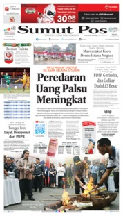 Cover SUMUT POS 15 Agustus 2019