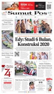 Cover SUMUT POS 16 Agustus 2019