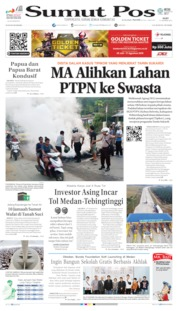 Cover SUMUT POS 21 Agustus 2019