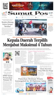 Cover SUMUT POS 22 Agustus 2019
