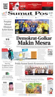 Cover SUMUT POS 26 Agustus 2019