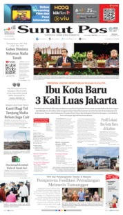 Cover SUMUT POS 27 Agustus 2019