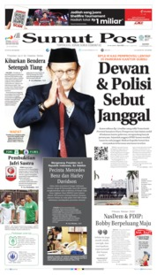 Cover SUMUT POS 12 September 2019