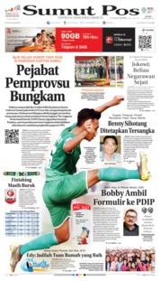 Cover SUMUT POS 13 September 2019