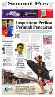 Cover SUMUT POS 14 September 2019