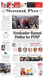 Cover SUMUT POS 16 September 2019