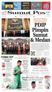 Cover SUMUT POS 17 September 2019