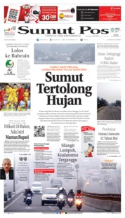 Cover SUMUT POS 23 September 2019