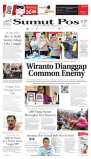 SUMUT POS Cover 12 October 2019