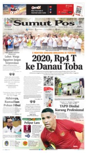 SUMUT POS Cover 15 October 2019
