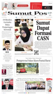 SUMUT POS Cover 16 October 2019