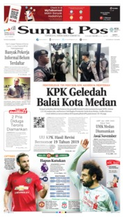 SUMUT POS Cover 19 October 2019