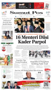 SUMUT POS Cover 21 October 2019
