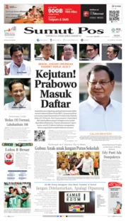SUMUT POS Cover 22 October 2019