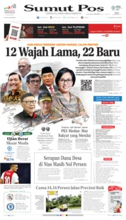 Cover SUMUT POS 23 Oktober 2019