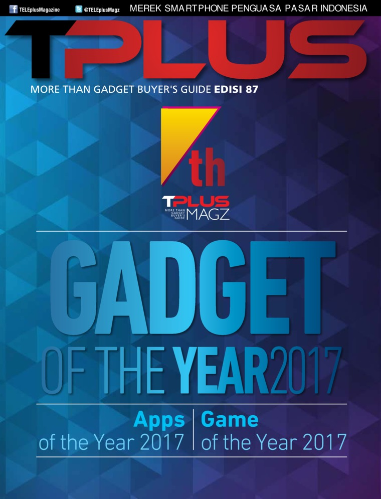 Majalah Digital TPLUS ED 87 Januari 2018