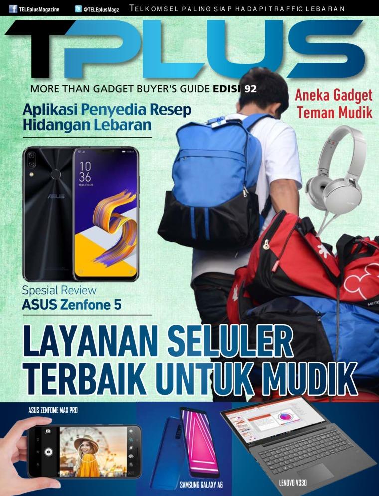 Majalah Digital TPLUS ED 92 Juni 2018