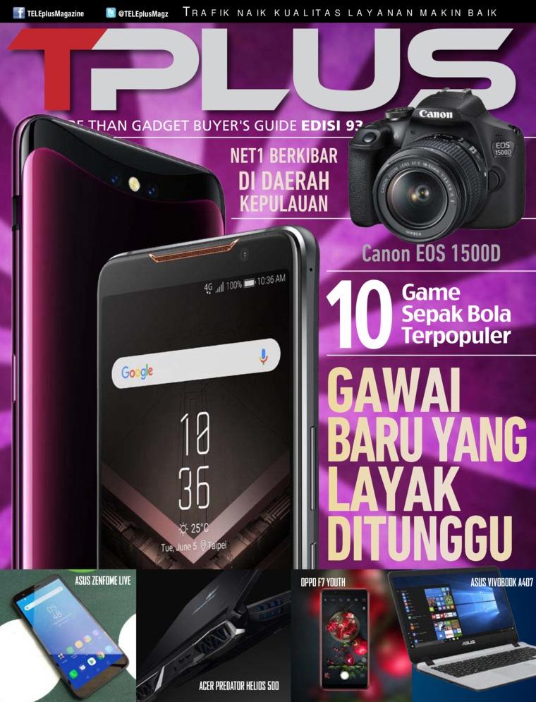 Majalah Digital TPLUS ED 93 Juli 2018