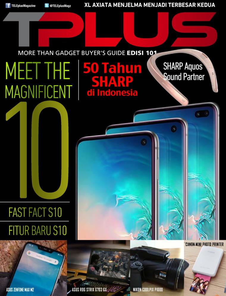 Majalah Digital TPLUS ED 101 Maret 2019