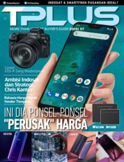 Cover Majalah TPLUS ED 97 November 2018