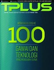 Cover Majalah TPLUS ED 100 Februari 2019