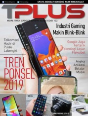 Cover Majalah TPLUS ED 102 April 2019