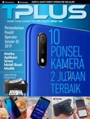 TPLUS Magazine Cover ED 104 June 2019