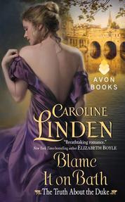 Blame It on Bath by Caroline Linden Cover